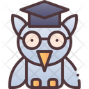 Owl Education Knowledge Icon