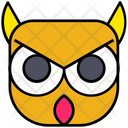 Halloween Horror Owl Icon