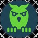 Halloween Horror Owl Icon