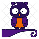 Owl Bird Halloween Icon