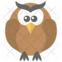 Owl Wisdom Bird Icon
