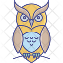 Evil Owl Halloween Bird Halloween Owl Icon