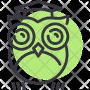 Owl Smart Teacher Icon