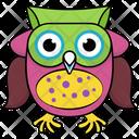 Owl Cute Icon
