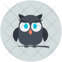Owl Animal Halloween Icon