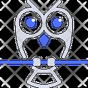 Owl Bird Wisdom Icon
