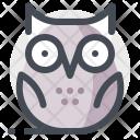 Owl Night Dark Icon