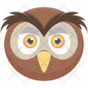 Owl Night Bird Icon