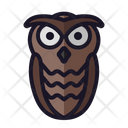 Owl Halloween Design Icon