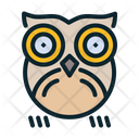 Bird Halloween Nocturnal Icon