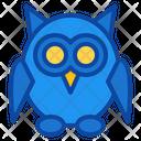 Owl Bird Halloween Night Fearful Icon