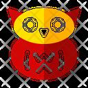 Owl Horror Halloween Icon
