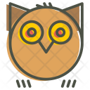 Owl Horror Hoot Icon