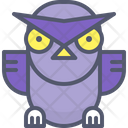 Owl Angry Icon