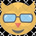 Owl Emoji Face Icon