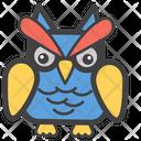 Owl Face Emoji Emoticon Icon