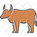 Ox Bull Cattle Icon