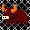 Ox Animal Celebration Icon