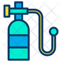Oxygen Bottle Bottle Hospital Icon