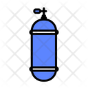 Oxygen Oxygen Bottle Underwater Equipment Icon