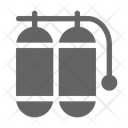 Oxygen Tank Diving Snorkeling Icon