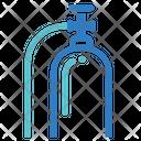 Medical Oxygen Oxgen Tank Icon