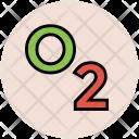 Oxygen Formula Molecular Icon