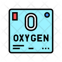 Chemical Element Oxygen Icon