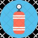 Oxygen Cylinder Breathing Icon