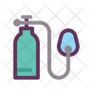 Medical Healthy Oxygen Icon