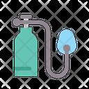 Medical Healthy Oxygen Icon