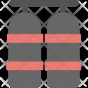 Oxygen Cylinder Scuba Icon