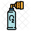Oxygen Can Bottled Icon