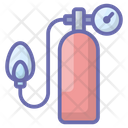 Medical Equipment Oxygen Cylinder Oxygen Pump Icon