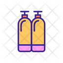 Diving Contour Cylinder Icon