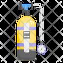 Oxygen Cylinder Cylinder Oxygen Tank Icon