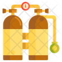 Diving Tank Oxygen Cylinder Oxygen Tank Icon