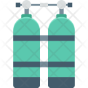 Oxygen Cylinders Icon