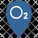 Oxygen Gps Point Icon