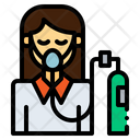 Breath Oxygen Oxygen Mask Icon
