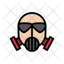 Mask Oxygen Safety Icon
