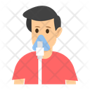 Oxygen Mask Breathing Apparatus Breathing Device Icon