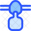 Airport Flight Oxygen Mask Icon