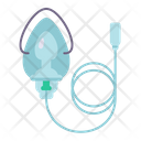 Medical Mask Oxygen Icon