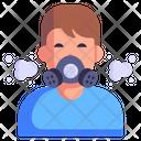 Gas Mask Oxygen Mask Face Mask Icon