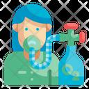Oxygen Patient Icon