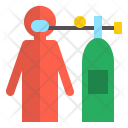Oxygen supply Icon