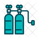 Oxygen Tank Tank Oxygen Bottle Icon