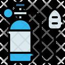 Oxygen O 2 Tank Icon