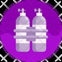 Air Oxygen Tank Icon